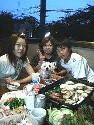 白瀬様のお子さん達と、愛犬ナナちゃん